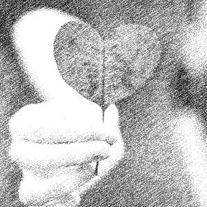 1. Love1 - B&W