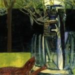 1936 Francis Bacon - Figures in a Garden