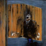 1949 Francis Bacon - Study for portrait (Man in a Blue Box)