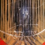 1950 Francis Bacon - Figure in frame