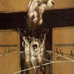 1950 Francis Bacon - Fragment of a Crucifixion
