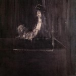 1950 Francis Bacon - Man at Curtain