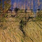 1952 Francis Bacon - Landscape after Van Gogh
