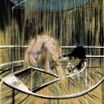 1952 Francis Bacon - Study for Crouching Nude