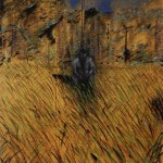 1952 Francis Bacon - Study for a Figure in Landscape