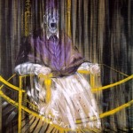 1953 Francis Bacon - Study after Velasquez's Portrait of Pope Innocent X