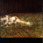 1954 Francis Bacon - Figures in grass