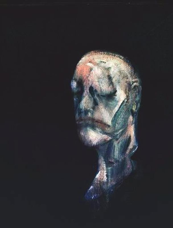 1955 Francis Bacon - After the life mask of William Blake III