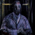 1955 Francis Bacon - Study Imaginary Portrait of Pope Pius XII