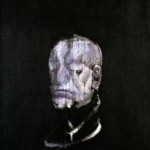 1955 Francis Bacon - Study for a Portrait (After the life mask of William Blake)