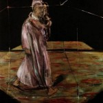 1956 Francis Bacon - Man carrying a Child