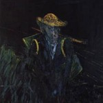 1956 Francis Bacon Study for Landscape After Van Gogh I