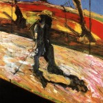 1957 Francis Bacon - Study for Landscape After Van Gogh II