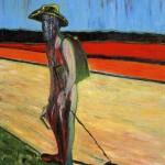 1957 - Francis Bacon Study for Landscape After Van Gogh V