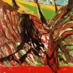 1957 Francis Bacon - Study for Landscape After Van Gogh VI