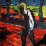 1957 Francis Bacon - Study for a Portrait of Van Gogh II