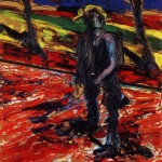 1957 Francis Bacon - Study for a Portrait of Van Gogh III