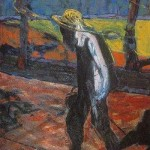 1957 Francis Bacon - Study for a Portrait of Van Gogh IV