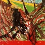1957 Francis Bacon - Study for a Portrait of Van Gogh VI
