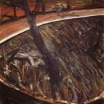 1957 Francis Bacon - Van Gogh in a Landscape