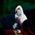 1960-61 Francis Bacon - Reclining Man with Sculpture