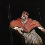 1961 Francis Bacon - Study for a Pope III