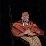 1961 Francis Bacon - Study for a Pope IV