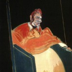 1961 Francis Bacon - Study for a Pope VI
