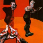 1962 Francis Bacon - Three Studies for a Crucifixion - 1