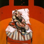 1962 Francis Bacon - Three Studies for a Crucifixion - 2