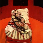 1962 Francis Bacon - Three studies for a crucifixion center