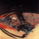 1963 Francis Bacon - Landscape near Malabata Tangier