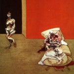 1965 Francis Bacon - Crucifixion left