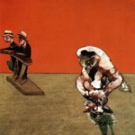 1965 Francis Bacon - Crucifixion right