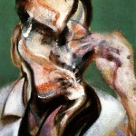 1966 Francis Bacon - Study for a portrait of Lucian Freud
