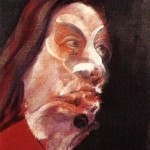 1966 Francis Bacon - Three Studies of Isabel Rawsthorne, left