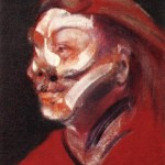 1966 Francis Bacon - Three Studies of Isabel Rawsthorne, right