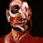1966 Francis Bacon - Three Studies of Muriel Belcher, center panel