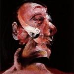 1966 Francis Bacon - Three Studies of Muriel Belcher, left panel