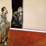 1967 Francis Bacon - Portrait of George Dyer Staring into a Mirror