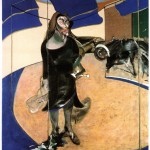 1967 Francis Bacon - Portrait of Isabel Rawsthorne in a Street in Soho