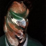 1967 Francis Bacon - Study for Head of Lucian Freud