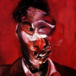 1967 Francis Bacon - Three studies for a portrait - center