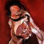 1967 Francis Bacon - Three studies for a portrait - left