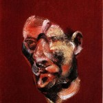 1967 Francis Bacon - Three studies for a portrait right