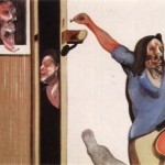 1967 Francis Bacon - Three studies of isabel rawsthorne_ on single canvas