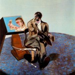 1968 Francis Bacon - Portrait of George Dyer in a Mirror