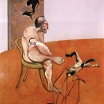 1968 Francis Bacon - Two figures lying on a bed with attendants a