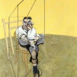 1969 Francis Bacon - Three studies of lucian freud - a