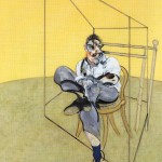 1969 Francis Bacon - Three studies of lucian freud - b